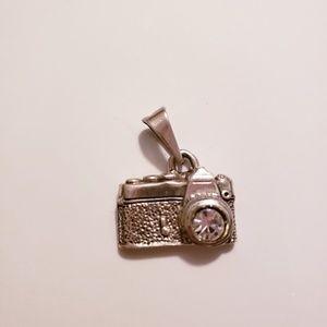 Taxco 925 Silver Camara Pendant